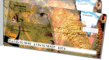 Zoo Animal Side Tear Personalized Checks
